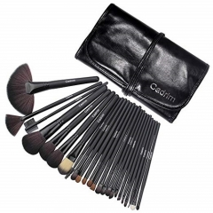 Cadrim Make Up Brush Set Cosmetic Brush Eyeshadow( 24er in Schwarz)
