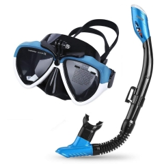 Cadrim  Snorkel Mask with 180 Degree Viewing for Adults and Children